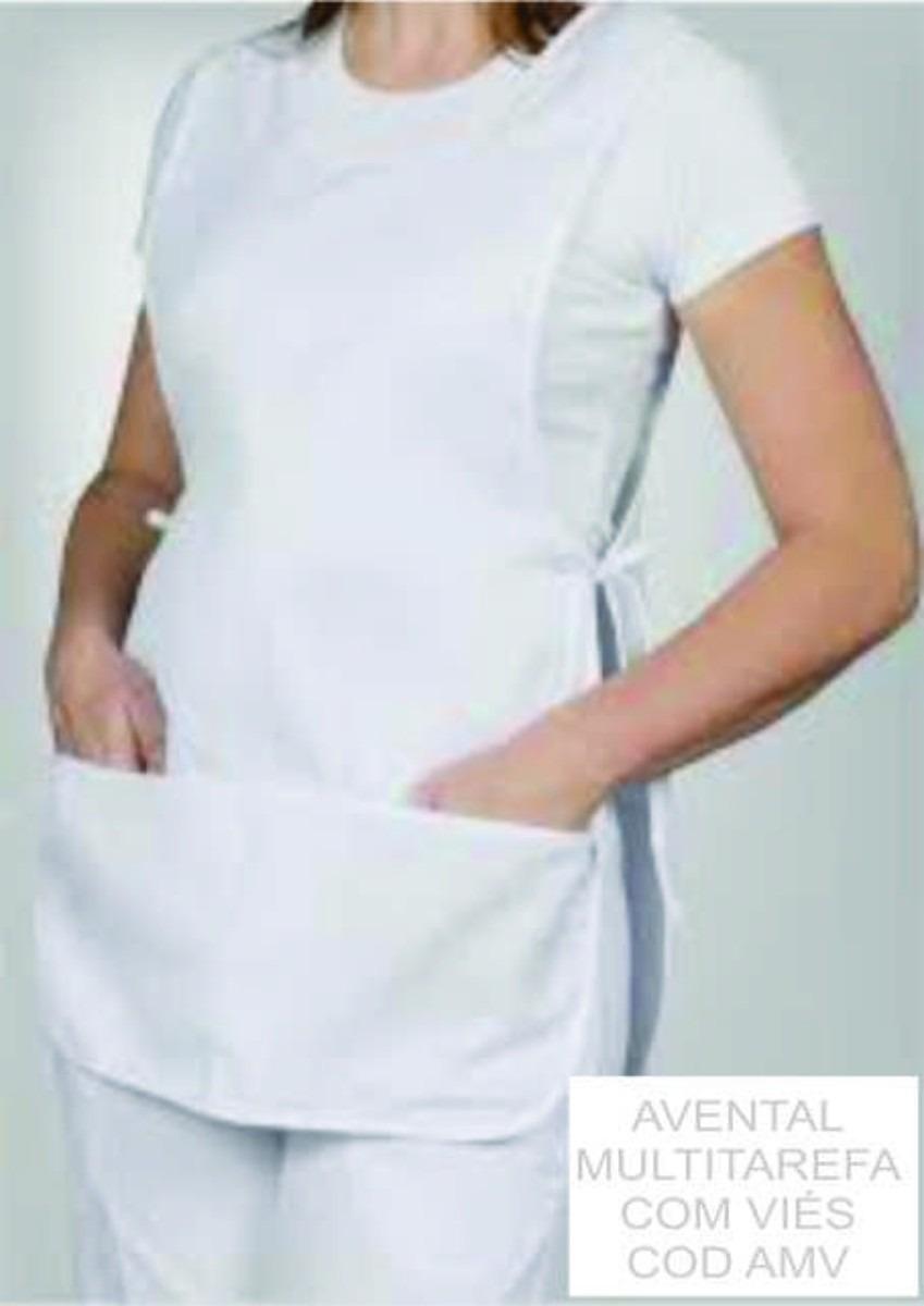 Jaleco branco estética/enfermagem