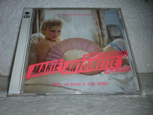 Cd Marie Antoinette Soundtrack 2006 Usa Duplo Original