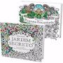2 Livros: Jardim Secreto Floresta Encantada Frete Grátis