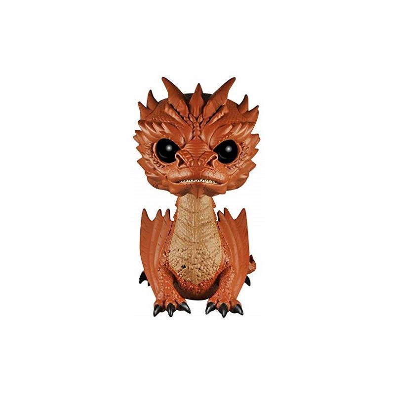 Smaug Pop Funko #124 - Dragão - Super Sized 15cm - O Hobbit