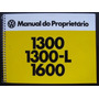 Manual Do Proprietário Fusca 1977/78