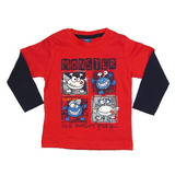 Camiseta Monster TMX Kids&Teens