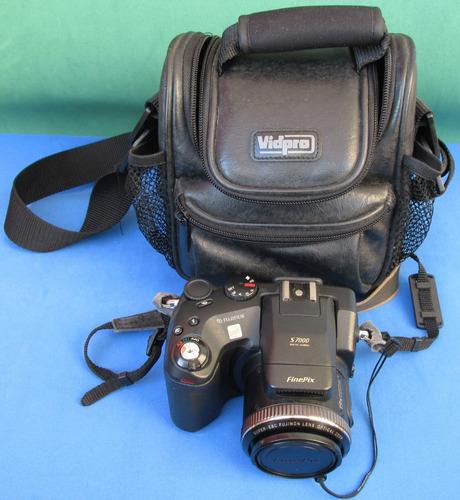 Máquina Fotográfica Digital Fujifilm Finepix S7000 Casecouro Original