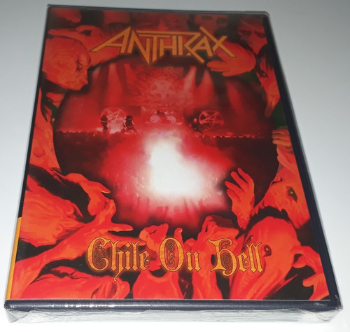 Anthrax - Chile On Hell (dvd Lacrado) Original