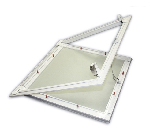 Alçapão Alumínio Com Tampa Para Forro Drywall Gesso 60x60 Original