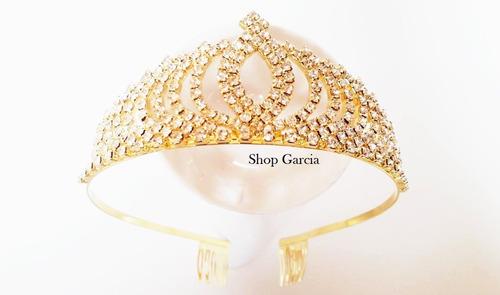 Tiara Arco Coroa Arranjo De Cabelo Noiva Noivado Daminha 023 Original