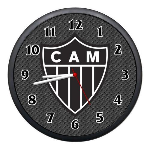 Relógio Parede Atlético Mineiro Decorativo Promoção Barato Original