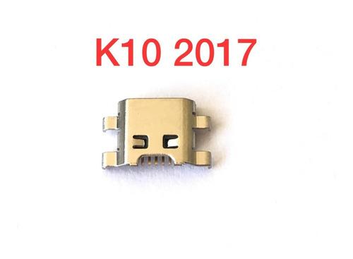 Kit 5 Conectores Carga E Usb LG K10 2017/k8/ K5/ K4/ Original