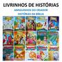 50 Livrinhos Bíblicos Infantil Historinhas Livros