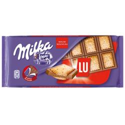 Barra do Chocolate Milka - LU
