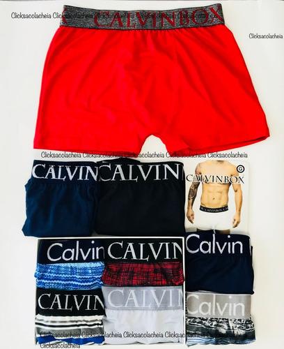 Cueca Calvin Box 24 Unidades Promoção + Frete