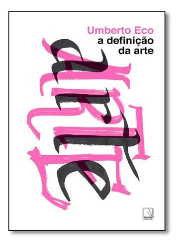 Livro A Definição Da Arte Original