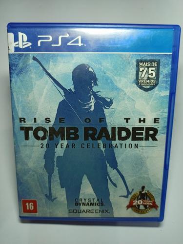 Rise Of The Tomb Raider (mídia Física Em Pt-br) - Ps4 Original
