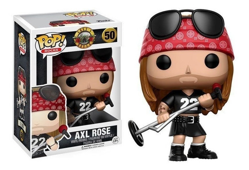 Funko Pop Axl Rose Guns N Roses #50 Original