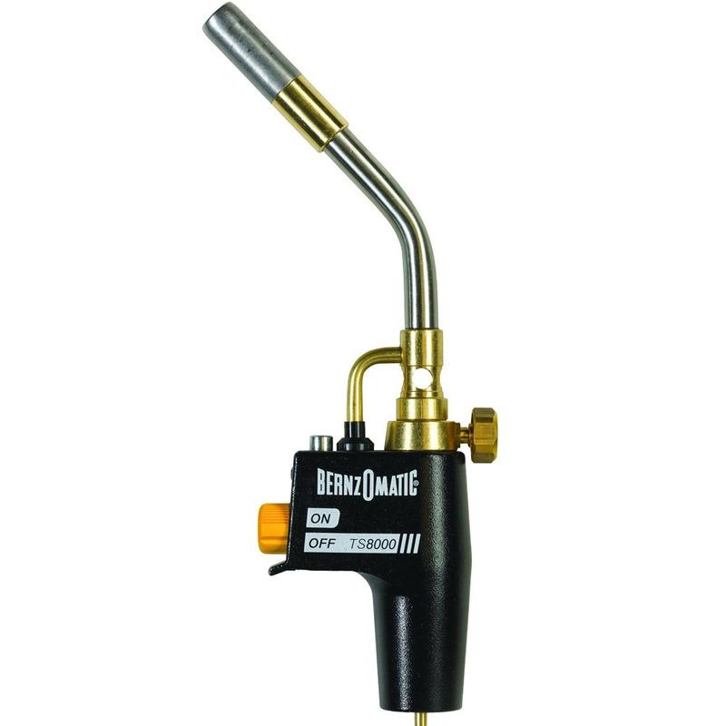 Maçarico Portátil Bernzomatic Uso Manual Ts8000