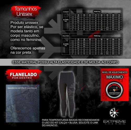 b6b5493705 Comprar Calça Segunda Pele Térmica Frio Intenso Extreme Forrada Legg -  Apenas R  99
