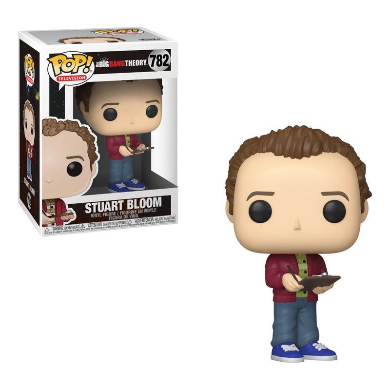 Stuart Bloom Pop Funko #782 - The Big Bang Theory - Television