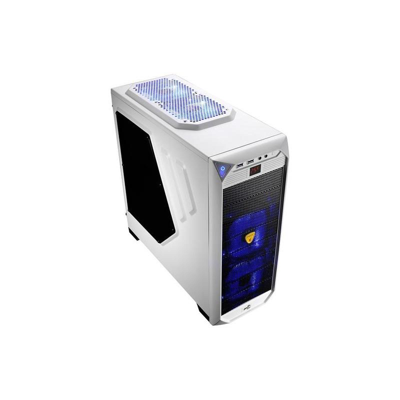 GABINETE GAME ATX SEM FONTE VS-92 WHITE WINDOW AEROCOOL U3H BRANCO - EN52148
