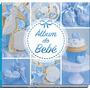 Livro Álbum Do Bebê Azul