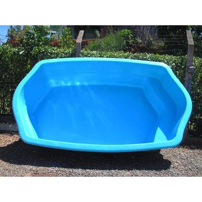 piscina de fibra 4 mil litros