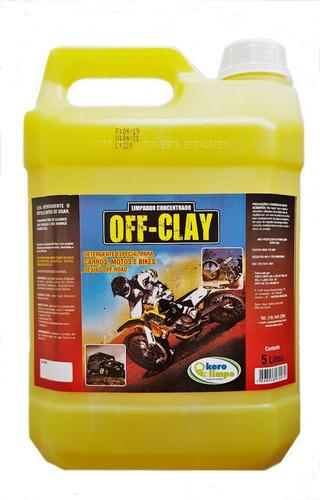 Shampoo Concentrado Off Clay Orquimol Alta Performance Original