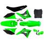 Plásticos Completo Crf 230 Elite Verde Biker 2008 2018
