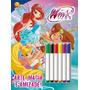 Colorir E Atividades Com Canetinha: Winx Club