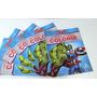 30 Revistas Heróis, Lembrancinhas, hulk, Capitão América