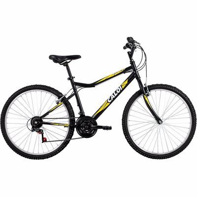 Bicicleta Caloi Aspen Aro 26 21 Marchas Mtb - Preto/amarelo em Curitiba