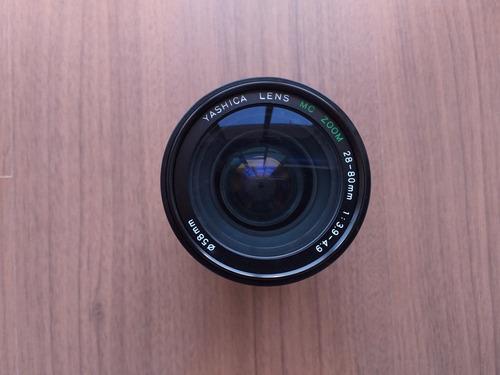 Objetiva Yashica Mc Zoom 28-80mm (f: 3.9-4.9) Original