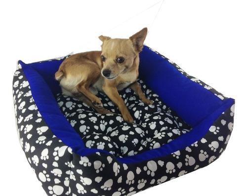Cama Para Cachorros Pequeno C/ Capa Com Ziper 50x 50cm Original