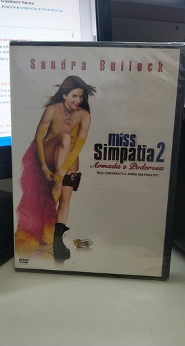 Miss Simpatia 2 -sandra Bullock -lacrado -dvd Original