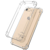 Capa TPU Borda Anti Impacto Transparente Iphone 7 Plus