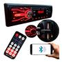 Rádio Mp3 Automotivo Carro Bluetooth 2x Usb Sd Aux