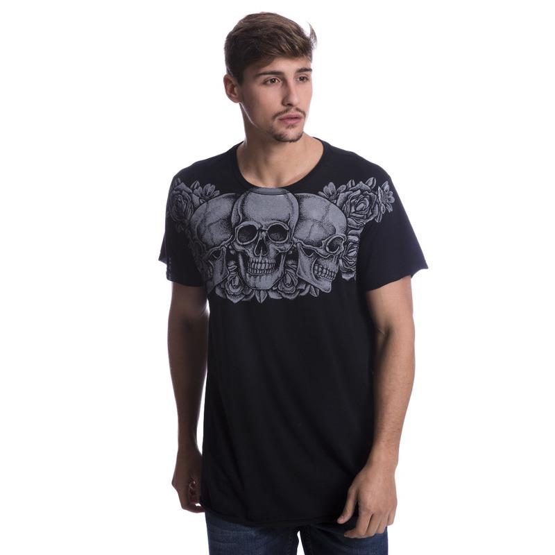 Camiseta Long Island HB Preta