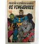 Coleção Histórica Marvel Vingadores Box 01 E 02