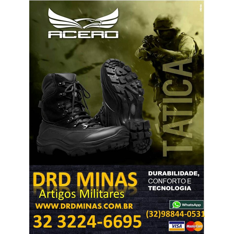 Coturno Militar Tática Especiais - Force Militar