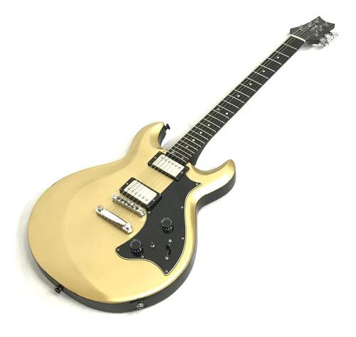 Guitarral Semi Acustica Loud Luthier Custom Shop Gold Top Original