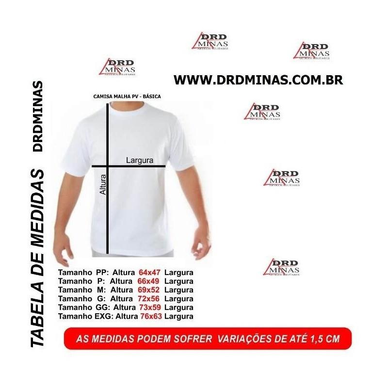 Camisa DEPEN MG - PENAL - Preta  Bordada