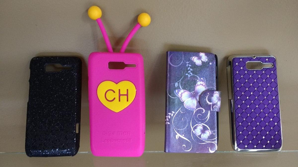 Kit 4 Capas Cases Celular Motorola Razr D3 Xt920 - Usados