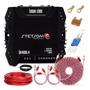 Módulo Stetsom Ir400.4 400w Rms 4 Canais Kit De Instalação