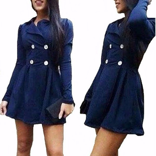 4d3c136e2f ... comprar Sobretudo Casaco Jaqueta Feminina Matalasse Outono inverno ...