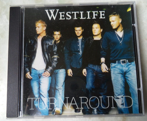Cd Westlife Turnaround Original