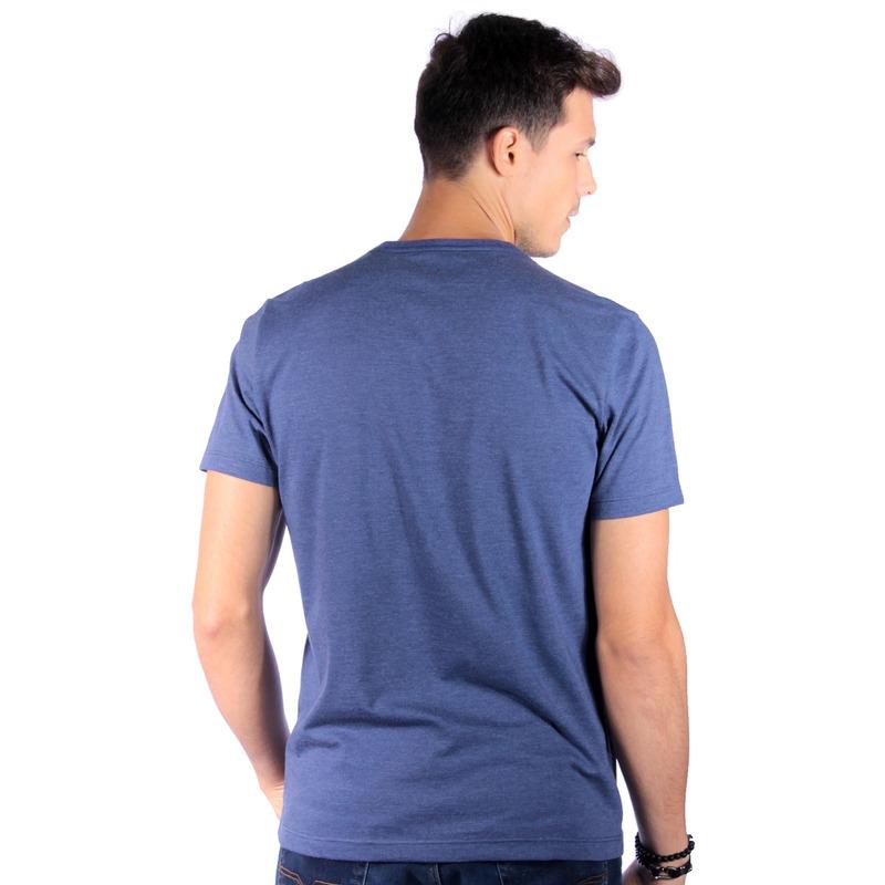 Camiseta Long Island Folhagem Marinho