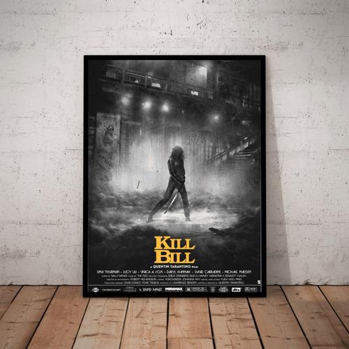 Quadro Arte Filme Kill Bill Tarantino Original