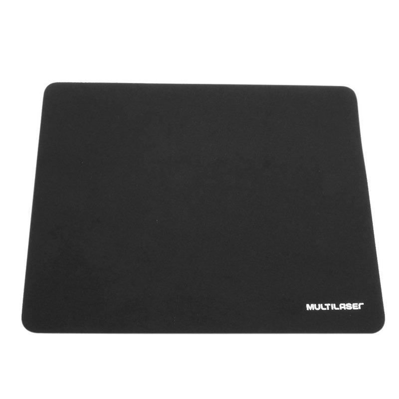 Mouse Pad Preto Multilaser 1 UN - AC027
