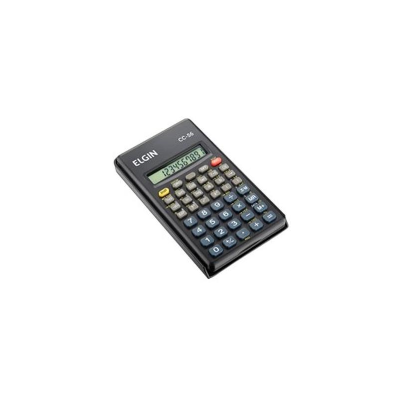 Calculadora Científica Elgin 56 Funções CC-56 Preto