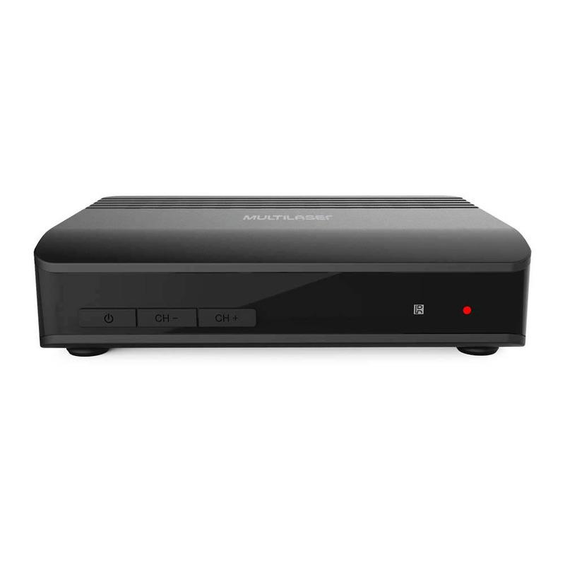 Conversor e Gravador de TV Digital Com Entrada HDMI Multilaser - RE219