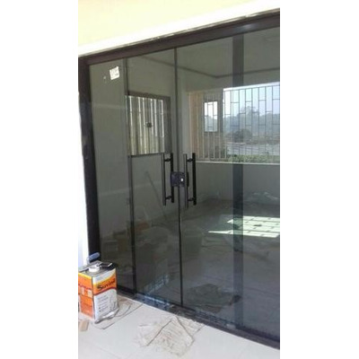Porta Blindex 1 50 X 2 10 Vidro 8mm Fume Venda Em Rio