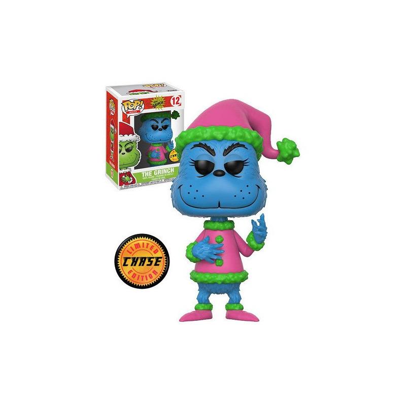 The Grinch Chase Edition Pop Funko #12 - Santa Grinch - Dr. Seuss - Books